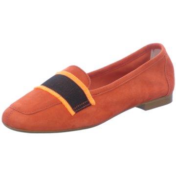 Gianluca Pisati Klassischer Slipper orange