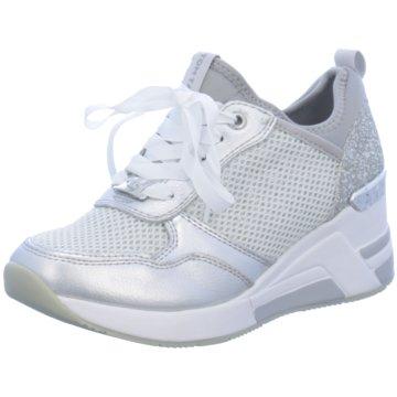 Supremo Sneaker Wedges silber