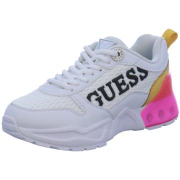 Guess Sneaker Low weiß