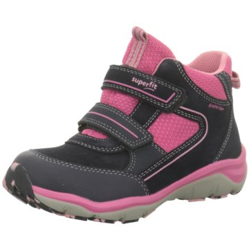 Superfit Hoher Klettschuh rot