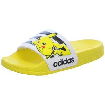 adidas Offene Schuhe gelb