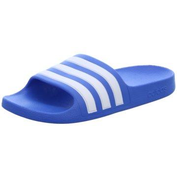 adidas Offene SchuheADILETTE AQUA K blau