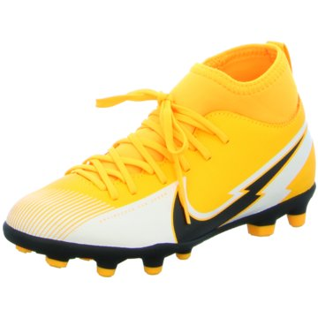 Nike Nocken-SohleJR. MERCURIAL SUPERFLY 7 CLUB MG - AT8150-801 gelb