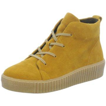 Gabor comfort Sneaker High gelb