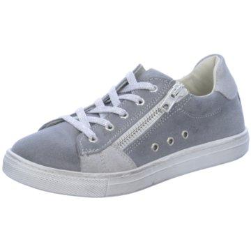 Lepi Sportlicher Schnürschuh grau