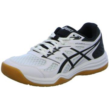 asics RunningUPCOURT  4 GS - 1074A027-100 weiß