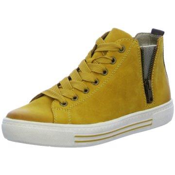 Remonte Sneaker High gelb