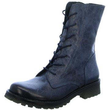Lazamani Boots blau