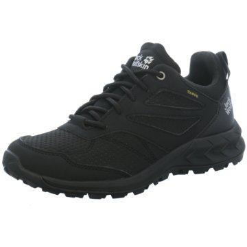 JACK WOLFSKIN Outdoor Schuh schwarz