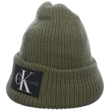 Calvin Klein Hüte, Mützen & Co. grün