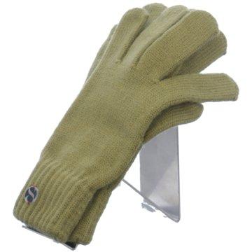 Seiden-Grohn Handschuhe grün