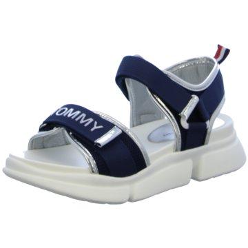 Tommy Hilfiger Offene Schuhe blau
