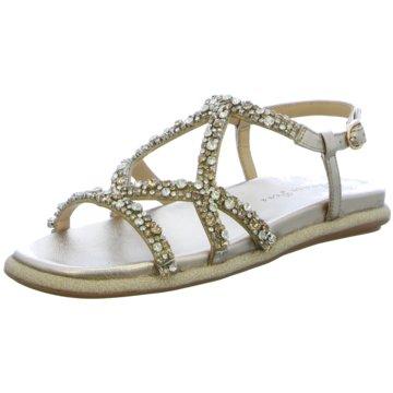 Alma en Pena Sandale gold