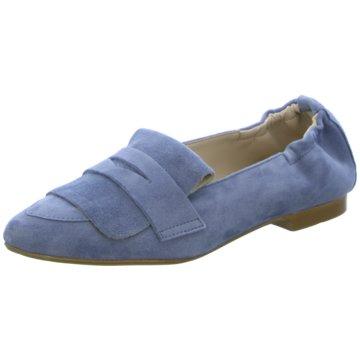 Lusar Klassischer Slipper blau