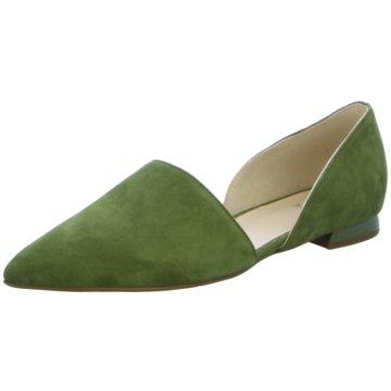 Högl Klassischer Slipper grün