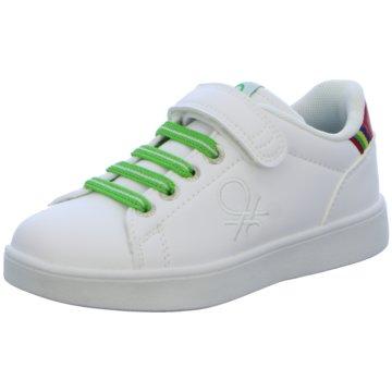 Benetton Sneaker Low weiß