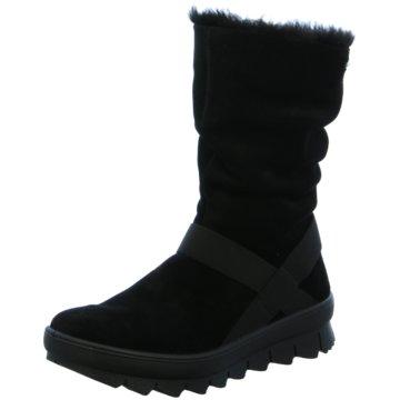 Mädchen Boots Stiefel Stiefeletten Winterboots Gefütterte Schuhe Schwarz 19227