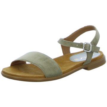 Unisa Offene Schuhe grün