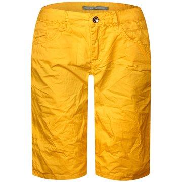 Street One Shorts gelb