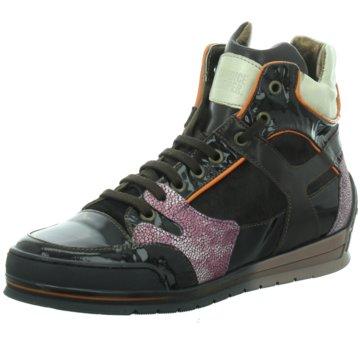 Candice Cooper Sneaker Wedges braun