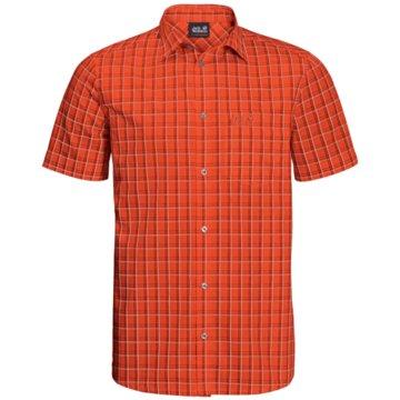 JACK WOLFSKIN KurzarmhemdenHOT SPRINGS SHIRT M - 1402332 orange