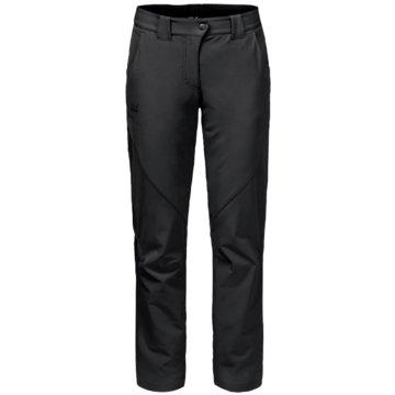 JACK WOLFSKIN OutdoorhosenCHILLY TRACK XT PANTS WOMEN - 1502371-6000 schwarz