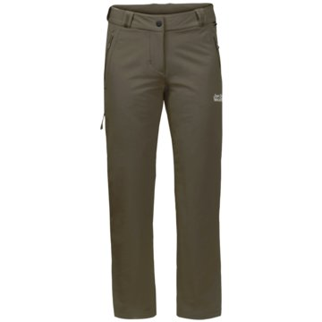 JACK WOLFSKIN OutdoorhosenACTIVATE THERMIC PANTS WOMEN - 1503592-4690 grau