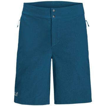 JACK WOLFSKIN kurze SporthosenGRADIENT SHORT M - 1506701 blau