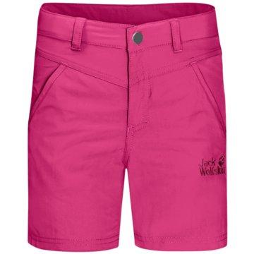 JACK WOLFSKIN Kurze SporthosenSUN SHORTS K - 1605613 pink
