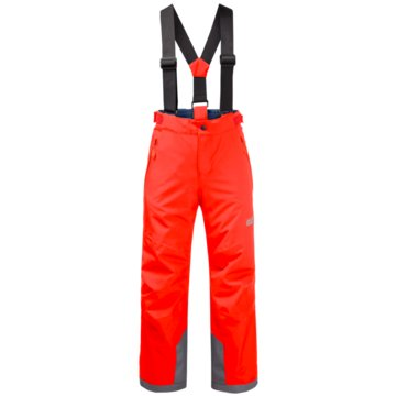 JACK WOLFSKIN OutdoorhosenGREAT SNOW PANTS KIDS - 1608711 rot