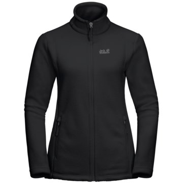 JACK WOLFSKIN SweatjackenMIDNIGHT MOON WOMEN - 1703862-6000 schwarz