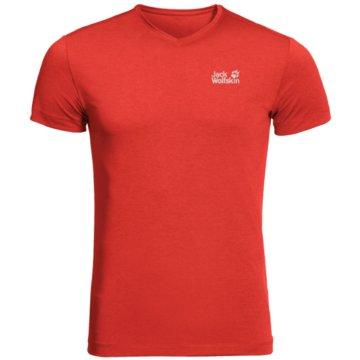 JACK WOLFSKIN T-ShirtsJWP T M - 1806641 rot