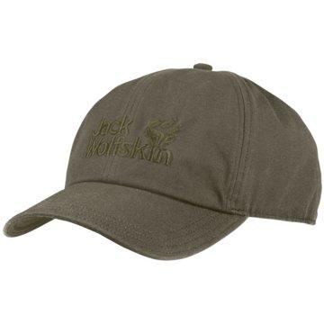 JACK WOLFSKIN CapsBASEBALL CAP - 1900671 grün