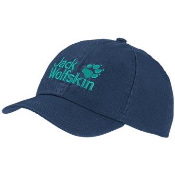 JACK WOLFSKIN CapsKIDS BASEBALL CAP - 1901011 blau