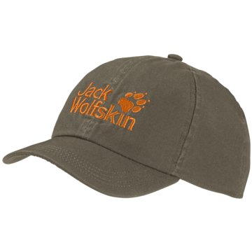 JACK WOLFSKIN CapsKIDS BASEBALL CAP - 1901011 grün