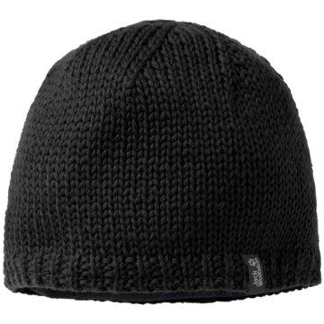 JACK WOLFSKIN CapsSTORMLOCK KNIT CAP - 1901961-6000 schwarz