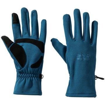 JACK WOLFSKIN FingerhandschuheCROSSING PEAK GLOVE - 1909071-1350 blau