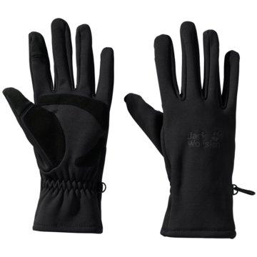 JACK WOLFSKIN FingerhandschuheCROSSING PEAK GLOVE - 1909071-6000 schwarz