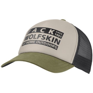 JACK WOLFSKIN CapsBRAND MESH CAP - 1909391 beige