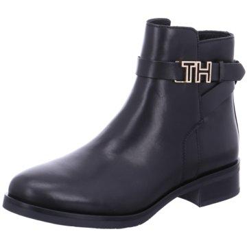 Tommy Hilfiger Klassische Stiefelette schwarz
