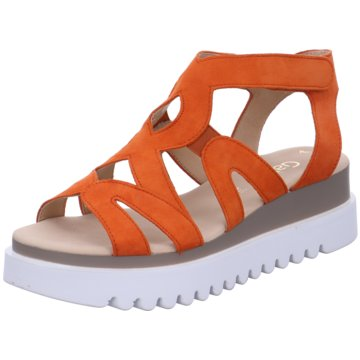 Gabor Plateau Sandalette orange