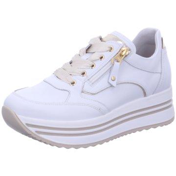 Nero Giardini Plateau SneakerC2185956 weiß