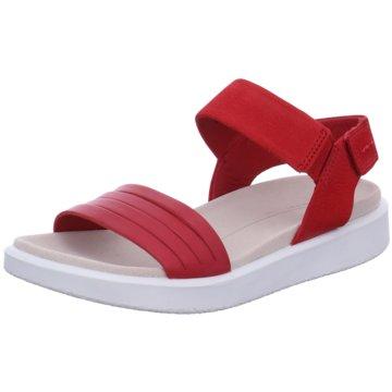 Ecco Komfort Sandale rot