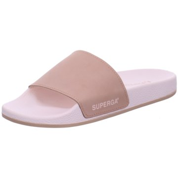Superga Pool Slides braun