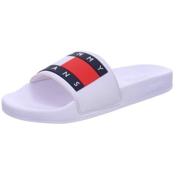 Tommy Hilfiger BadeschuhFeminine Tommy Monogram Sneaker weiß