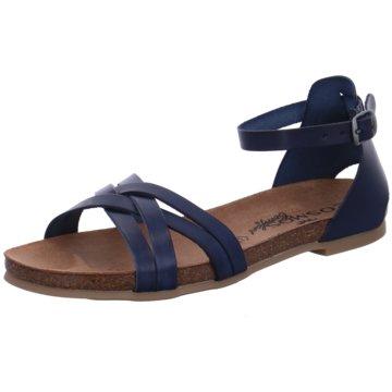 Mustang Sandale blau