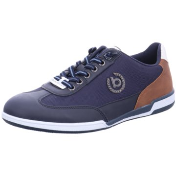 Bugatti Sportlicher Schnürschuh blau