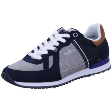 Pepe Jeans Sneaker Low blau