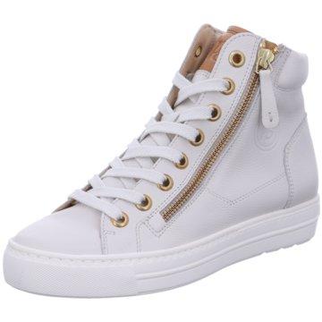 Paul Green Sneaker High4024 weiß