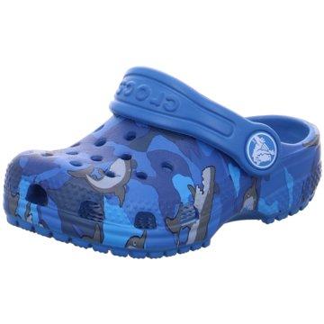 CROCS PantoletteClassic K Shark blau